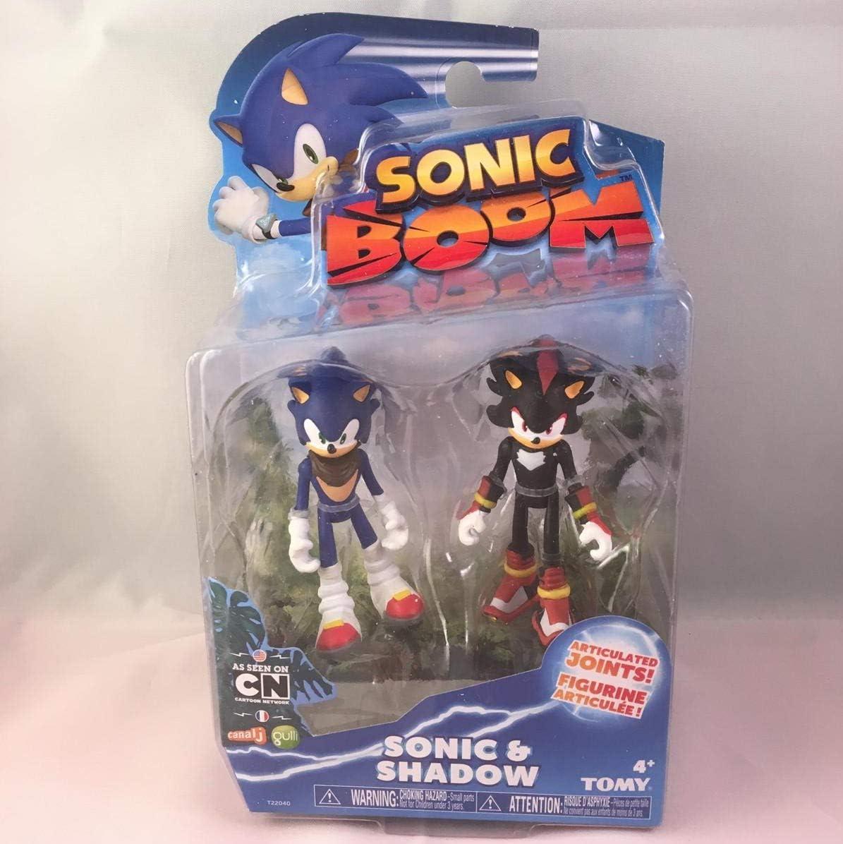 Dos Figuras Sonic Boom, Sonic y Shadow: Amazon.es: Juguetes y juegos