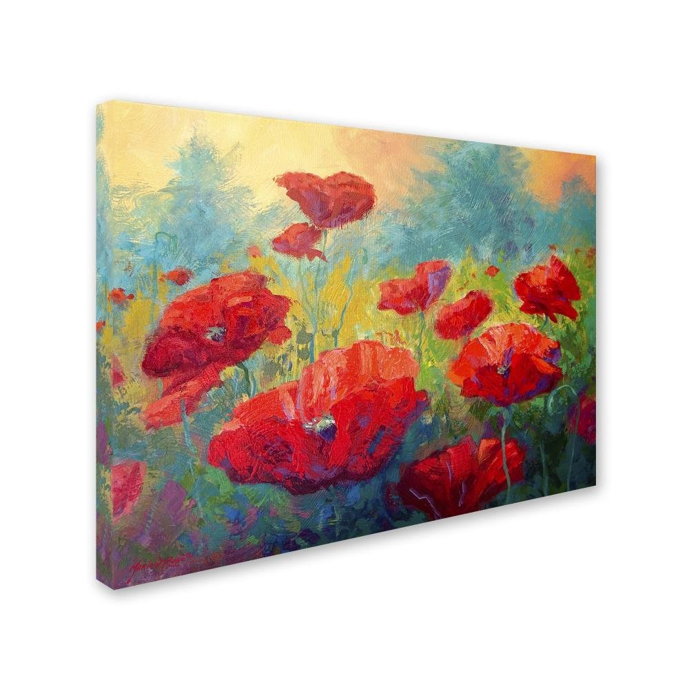 Field of Poppies by Marion Rose, 18×24-Inch Canvas Wall Art