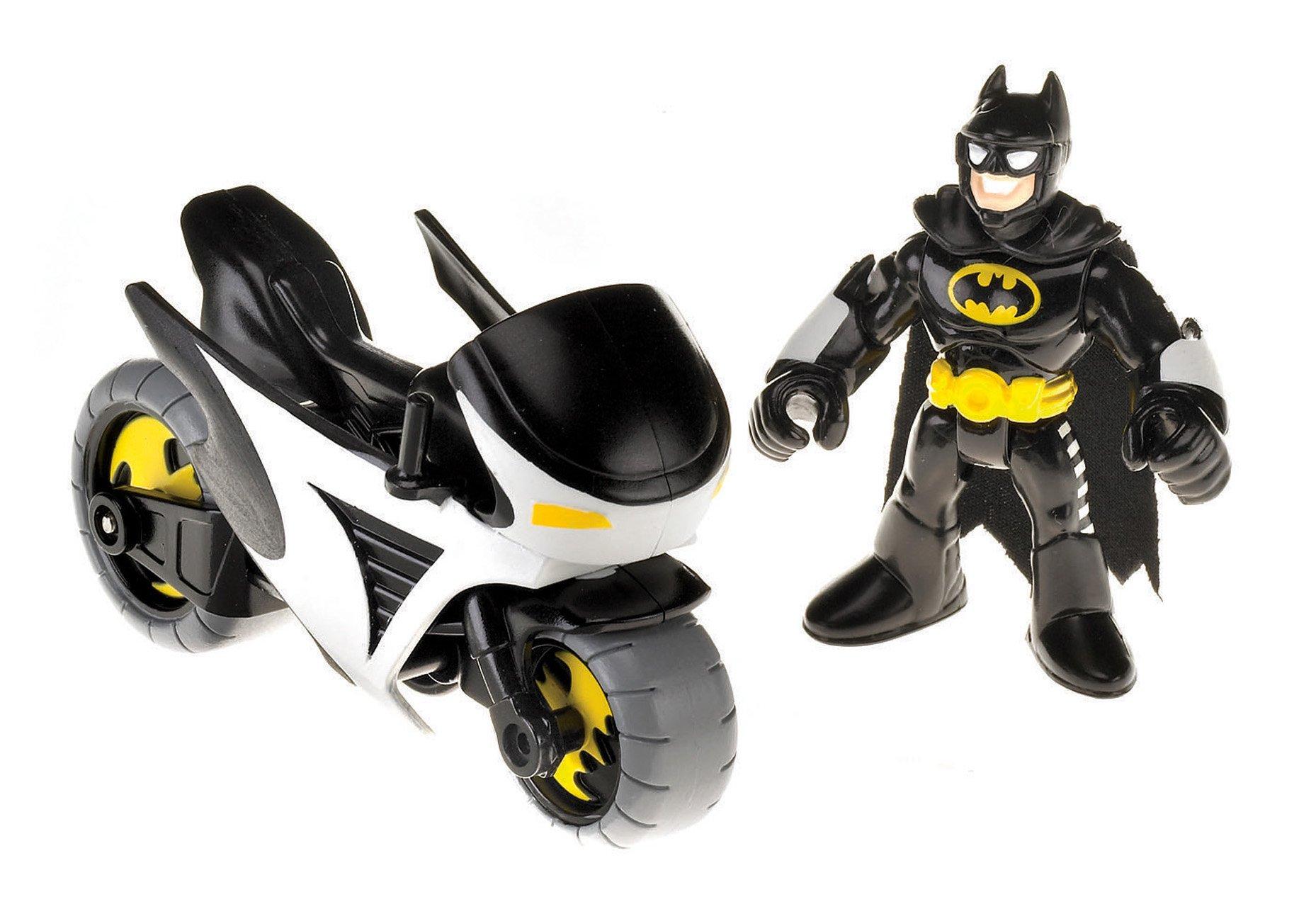 Fisher-Price Imaginext DC Super Friends Batman and Batcycle