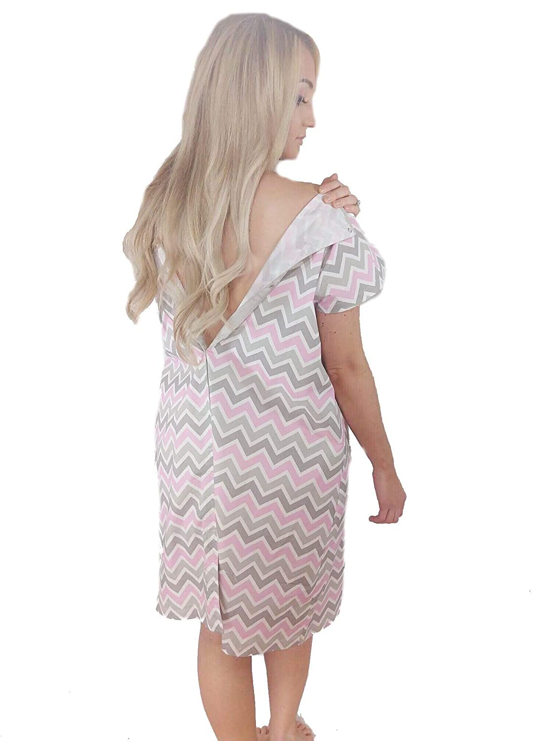 LK Designs - Maternity Hospital Gown for Labor & Delivery, Great ...