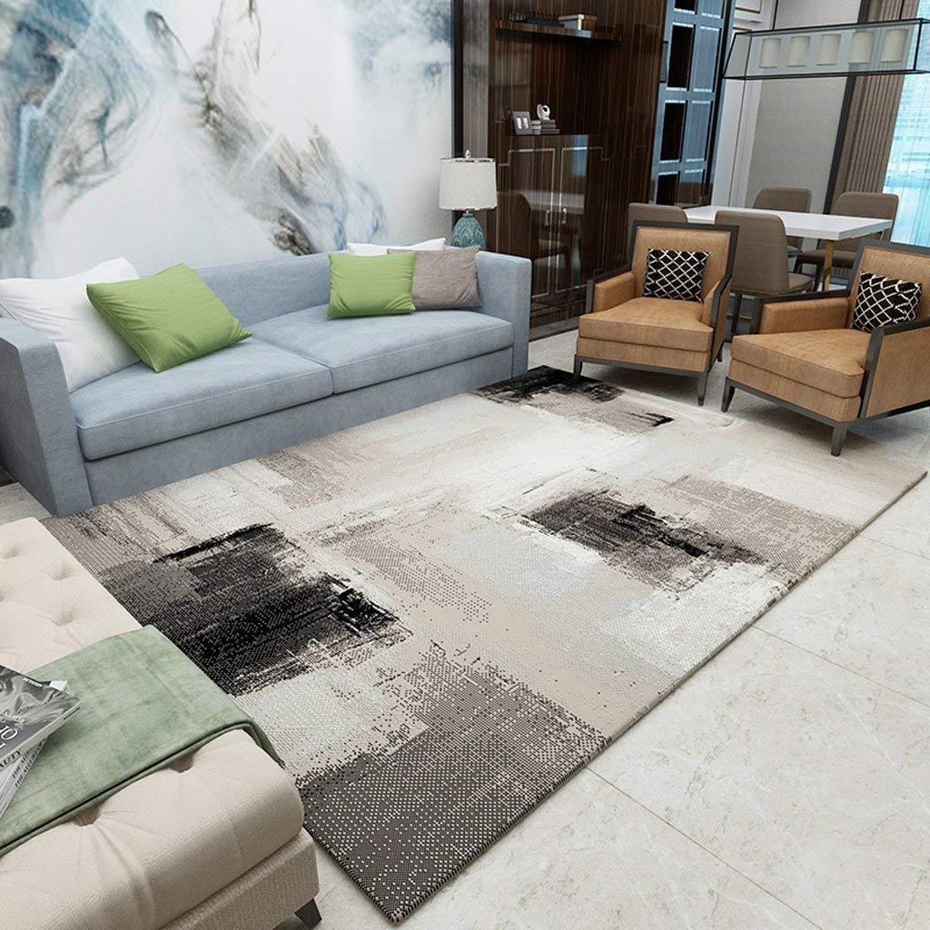 Paioupaiou 現代のシンプルなリビングルームのコーヒーテーブルソファブランケット寝室のベッドサイドビッグラグカーペット ソフトカーペット (Color : #4, サイズ : 200*290cm) B07S9YF6WN #4 200*290cm