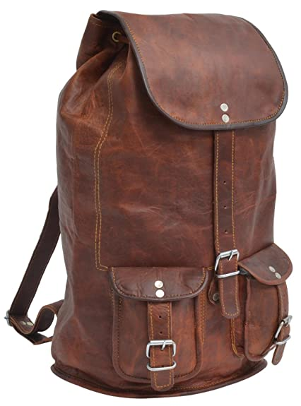f47f2e0f29f1 Gusti Leder nature  quot Louis quot  Genuine Leather Backpack Rucksack  Sling Bag City College Shoulder