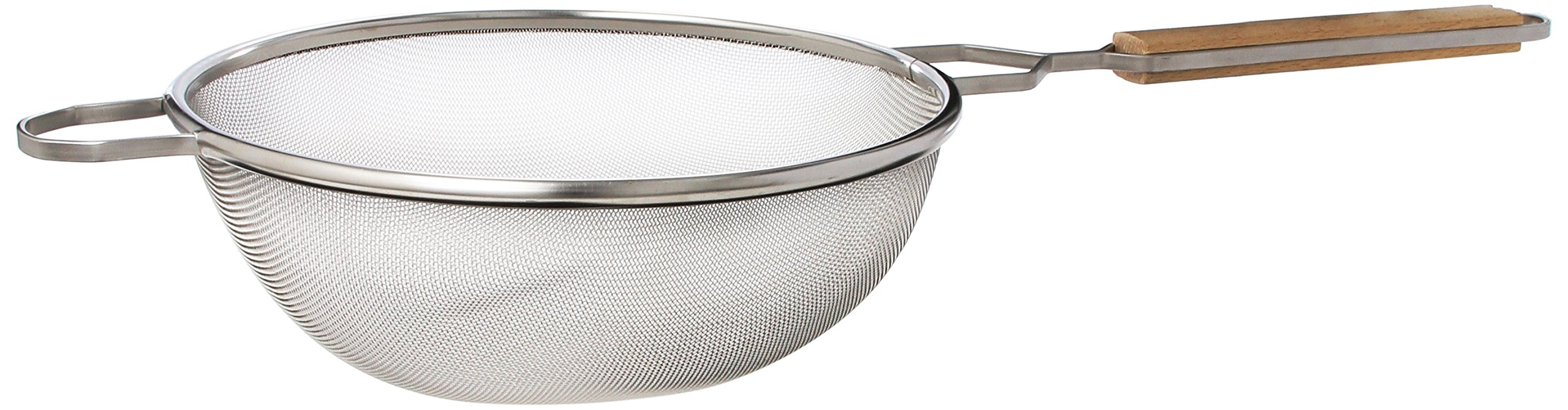 Crestware 10-1/4-Inch Fine Single Mesh Strainer