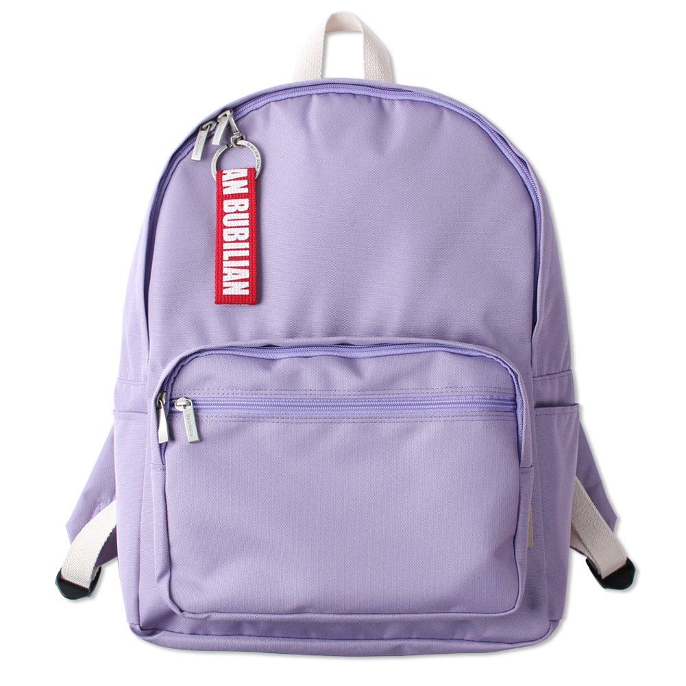 Bubilian BTBB Backpack / Korean Street Brand / School Bag / Travel Bag (Lilac)