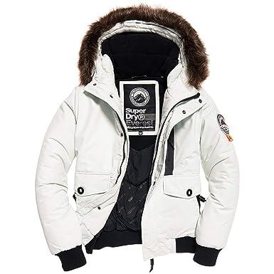 wholesale dealer e9d73 07e56 Superdry Herren Jacke Weiß weiß: Amazon.de: Bekleidung