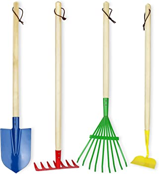 Click N Play Large 4-Piece Gardening Tools