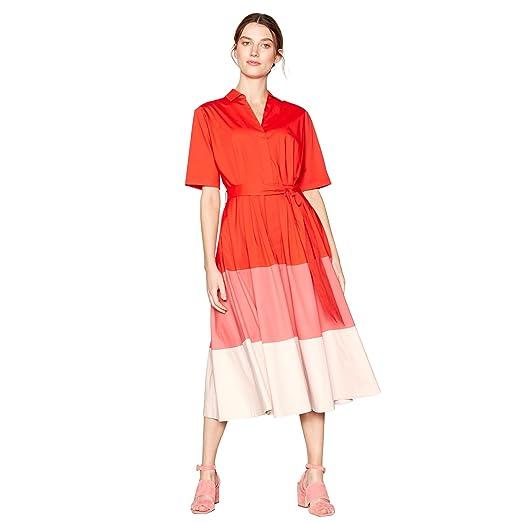 J By Jasper Conran Kids Girls/' Pink Colour Block Dress