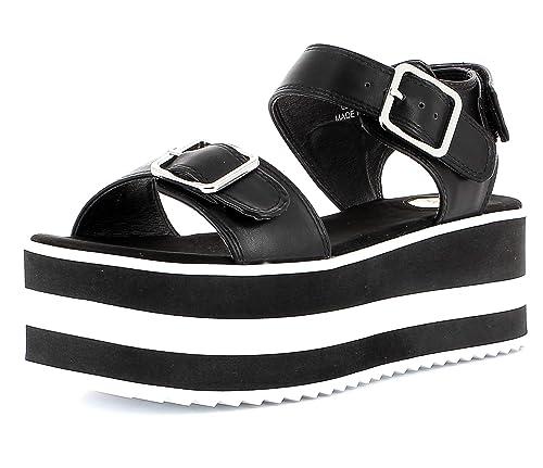 c0ea44b6 Buffalo EDMEE Mujer,Plataforma Sandalias,Sandalia de la Plataforma,Zapatos  de Verano,
