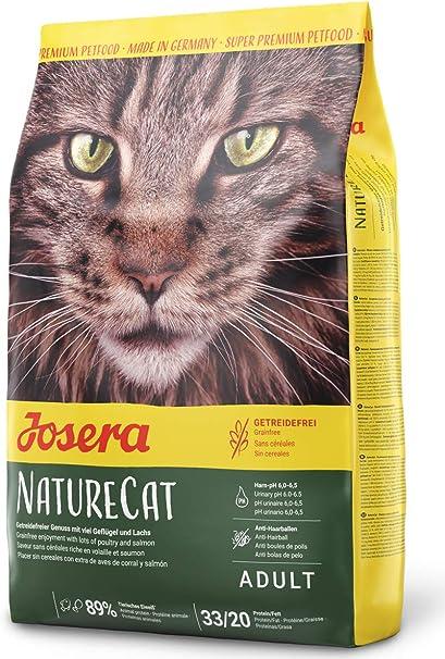 JOSERA Saco Gato NatureCat, 400g, Gato: Amazon.es: Productos para mascotas