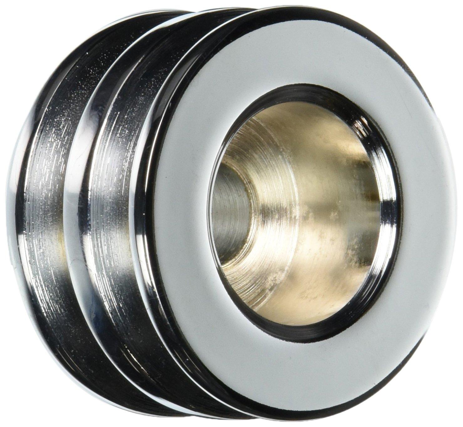 Powermaster 112 Chrome Double V-Belt Pulley