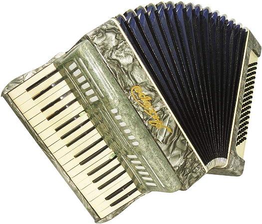 Teclado de piano ruso muy bonito acordeón Akkord 80 Bass 4 ...