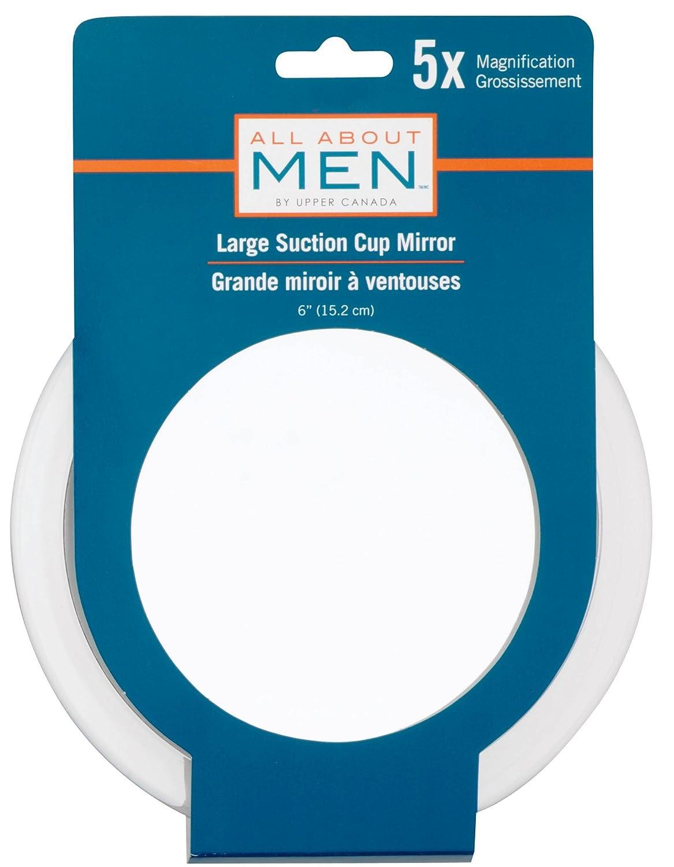 All About Men Danielle Enterprises Suction Shower 5X Mirror D375M