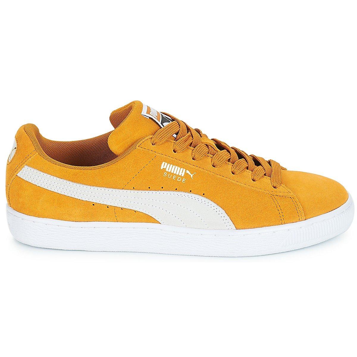 Puma Unisex-Erwachsene Unisex-Erwachsene Puma Suede Classic Sneaker, Gelb 29f197
