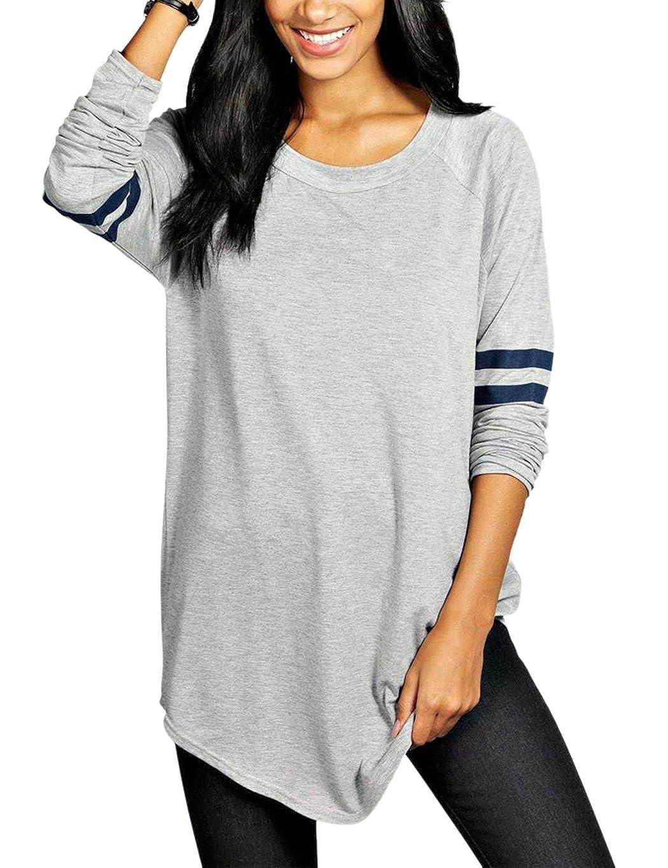 ZEARO - Camiseta de Manga Larga - para Mujer