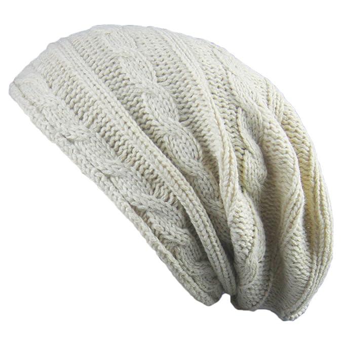 IHRKleid Männer und Frauen paar warme Kappe horizontale Twist ...
