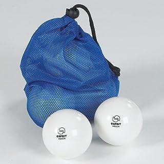 Esprit New léger lisse en intérieur &balles d'entraînement de Hockey-Blanc