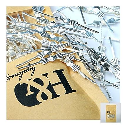 100 Jandorf Bead Chain Connector Yellow Brass Fitsno.6bead Chain Bag