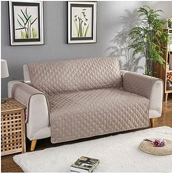 Zercing - Funda de sofá para Perro, Alfombrilla para Mascotas, Manta de Gato, Funda de sofá, Protector de Muebles Cama, Caqui, 3 Sofa Seats: Amazon.es: ...