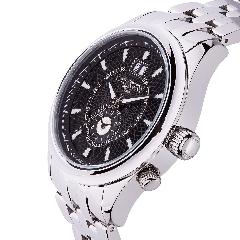 ポールPerret同心円メンズ腕時計 B078P6K2NK
