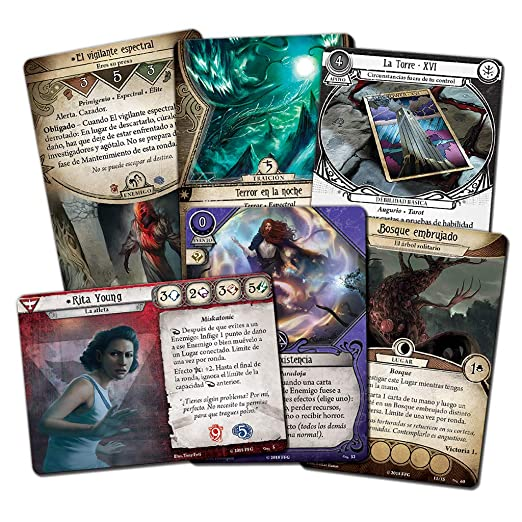 Amazon.com: Fantasy Flight Games The Broken Circle - Spanish ...