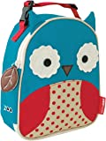 Skip Hop Baby Zoo Little Kid and Toddler Insulated and Water-Resistant Lunch Bag, Multi Otis Owl