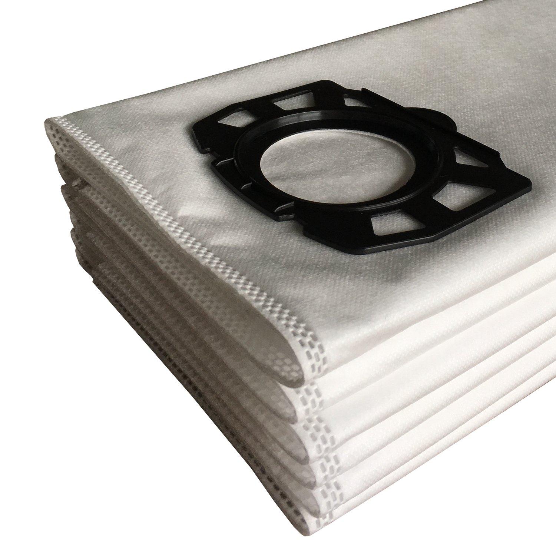 MV5 WD5//P Wet /& Dry Karcher MV4 Clean Fairy 10-pack sacche filtro di ricambio per WD4 WD5 MV6