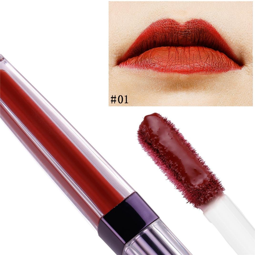 Amazon.com : Matt Lip Gloss Waterproof for Girls, Iuhan Womens Long Lasting Lip Gloss Matt Lip Gloss Waterproof Liquid Lipstick Beauty Makeup Tools Gift ...