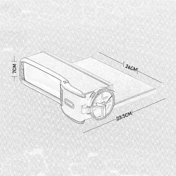 Organizador de bolsillo lateral de 2 PAQUETES - Asiento de automóvil Espacio de espacio vacío Espacio de almacenamiento de la consola con portavasos Colector de monedas, Accesorios interiores de cuero: Amazon.es: Jardín
