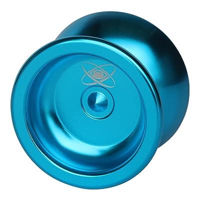 Yoyo King Watcher Metal Professional Yoyo with Ball Bearing Axle and Extra String Metallic Blue: Toys & Games [5Bkhe0504831]