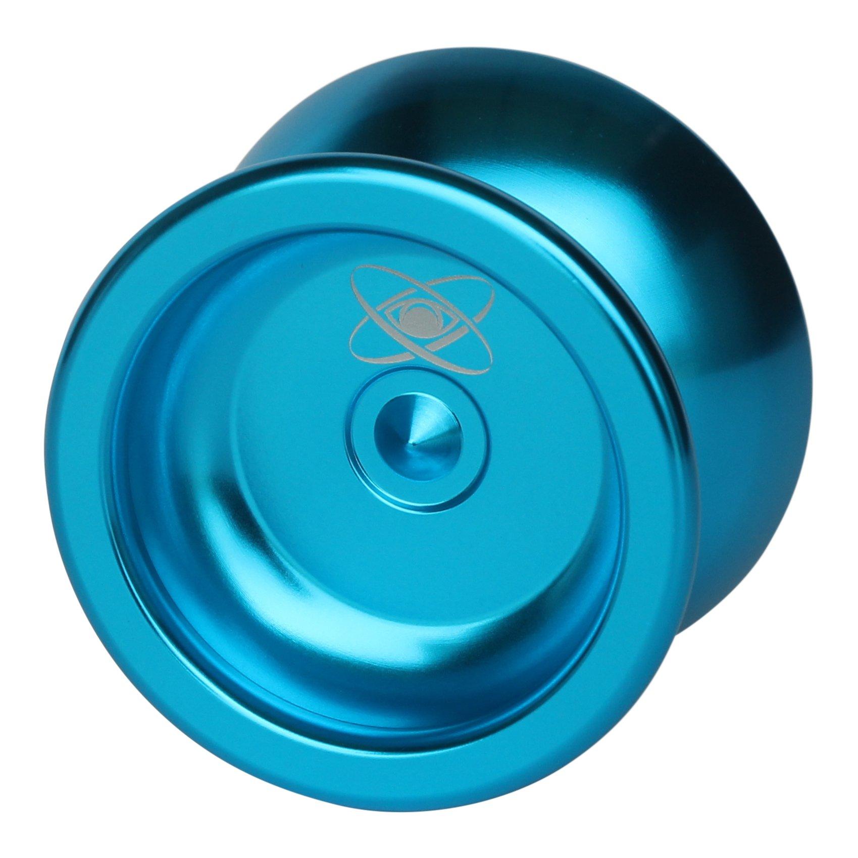 Yoyo King Watcher Metal Professional Yoyo with Ball Bearing Axle and Extra String Metallic Blue by Yoyo King