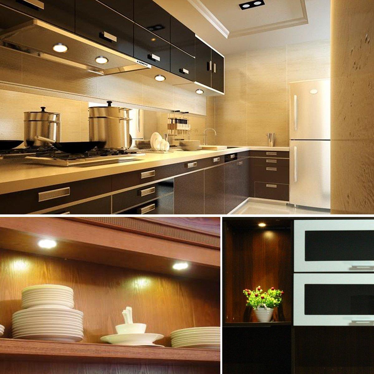 Amazoncom TryLight LED Under Cabinet Lighting Kit 1020lm 3000K