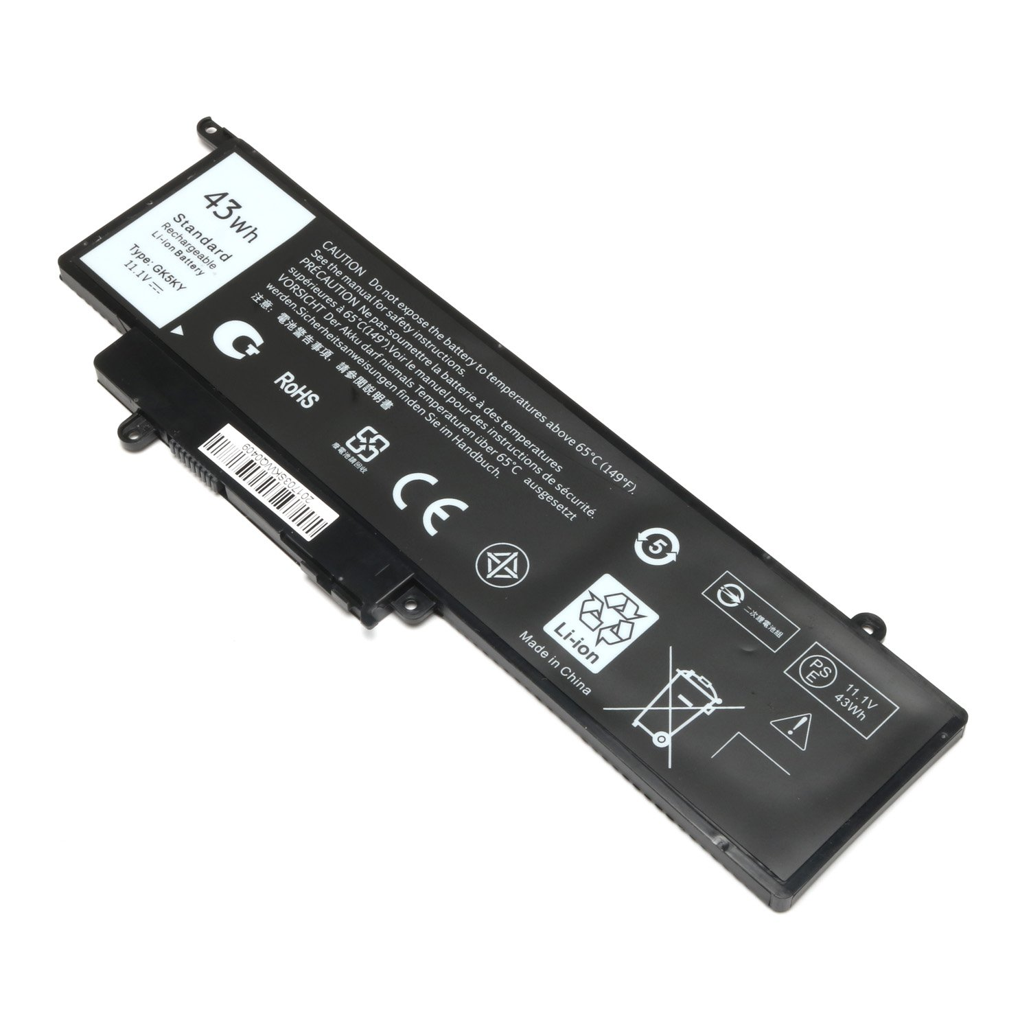 GK5KY New Laptop Battery for Dell Inspiron 11 3000 3147 3148 3152 13 7000 7353 7352 7347 7348 7359 7558 7568, Compatible P/N 04K8YH 92NCT 092NCT 4K8YH P20T Notebook PC by BULL-TECH (Image #5)