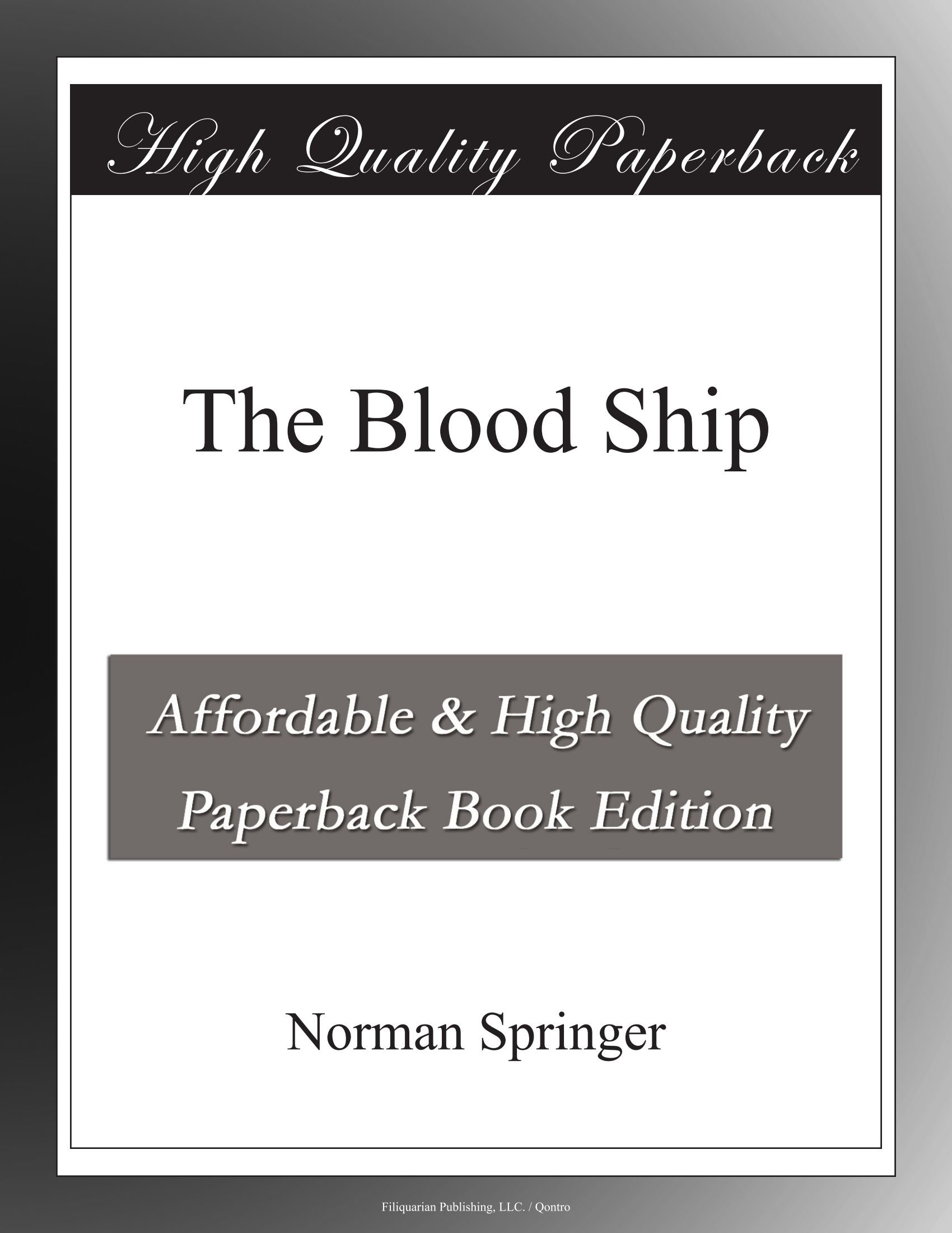 The Blood Ship ebook