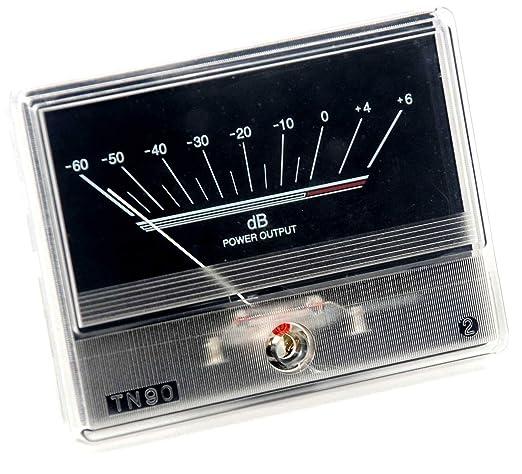 Amazon com: 2pcs TN90 VU Meter DB Level Header + 1pc Power