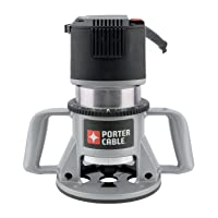 PORTER-CABLE 7518 Speedmatic 15 Amp 3-1/4 HP Fixed Base 5-Speed Router
