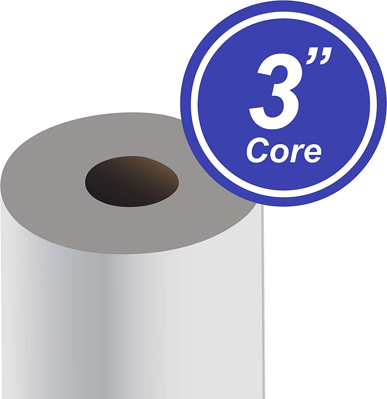 "Alliance Paper Rolls 20lb Bond Engineering 2 Rolls Per Carton with 3/"" Core 36/"" x 500/' 92 Bright"