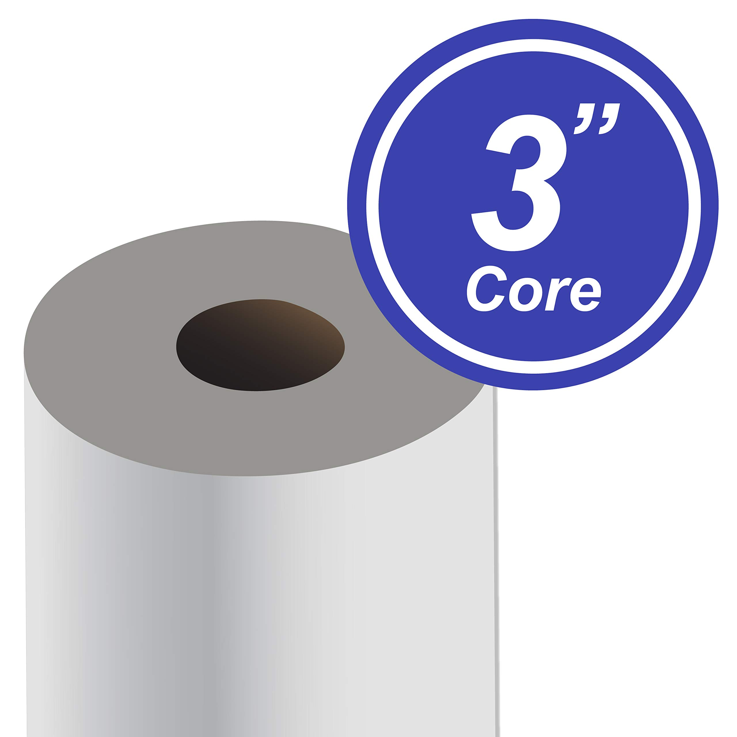 """Alliance Paper Rolls, Bond Engineering, 24"""" x 500', 92 Bright, 20lb - 45 Rolls per Pallet with 3"""" Core by Alliance (Image #3)"""