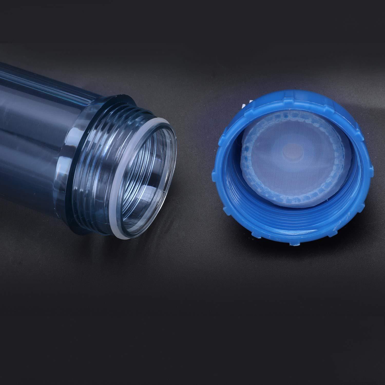 WOVELOT Filtro De Agua 2 Piezas T33 C/áscara del Cartucho DIY T33 Botella De Filtro De C/áscara 4 Piezas Accesorios Purificador De Agua para Sistema De /ósmosis Inversa