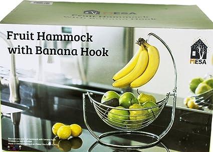 Amazon.com - Fruit Hammock with Banana Hook - Kitchen Storage And ...