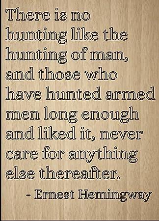 Es Gibt Keinen Wie Jagd Jagen Von Zitat