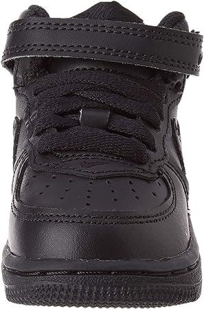 NIKE Force 1 Mid (TD), Zapatos de Primeros Pasos para Bebés