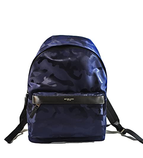 201498d350e1 Michael Kors Kent Nylon Backpack for Work School Office Travel (Camouflage  Indigo): Amazon.ca: Clothing & Accessories