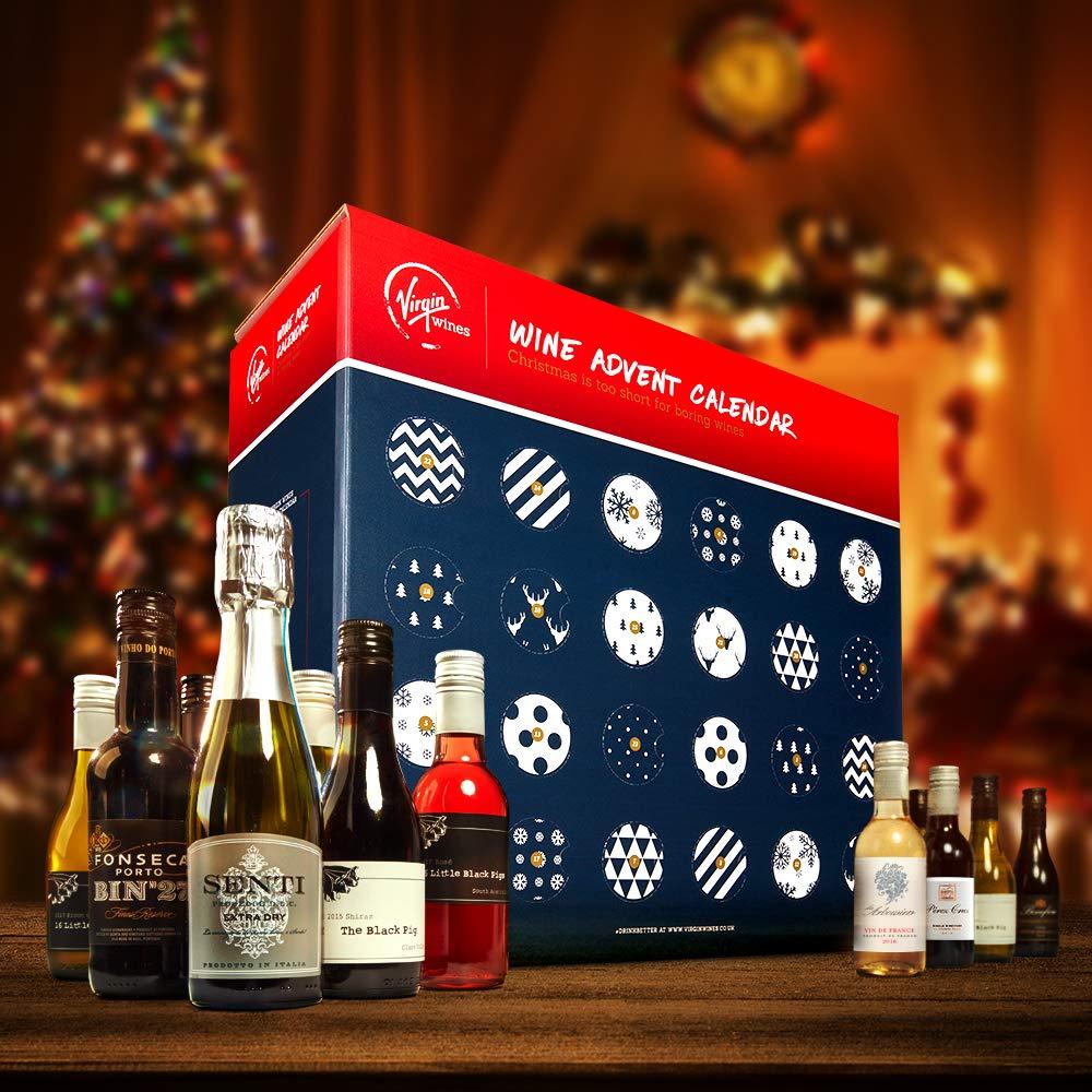 Virgin Wines Advent Calendar.Virgin Wines Sendagift Wine Advent Calendar Including Prosecco And Port