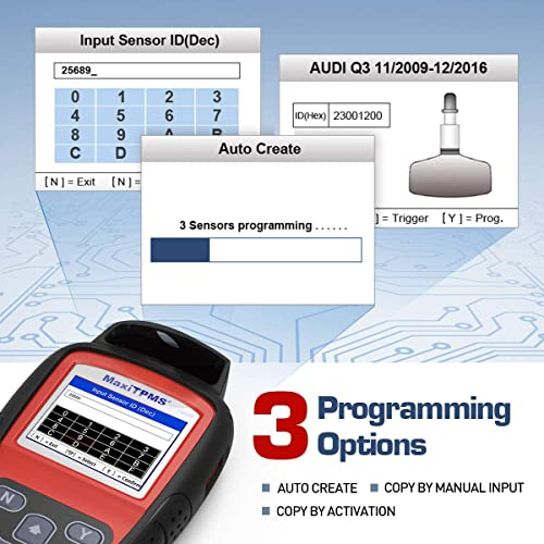 autel ts408 tpms tool is easy to use, with multiple options for reprogramming sensors and broad vehicle compatibility.
