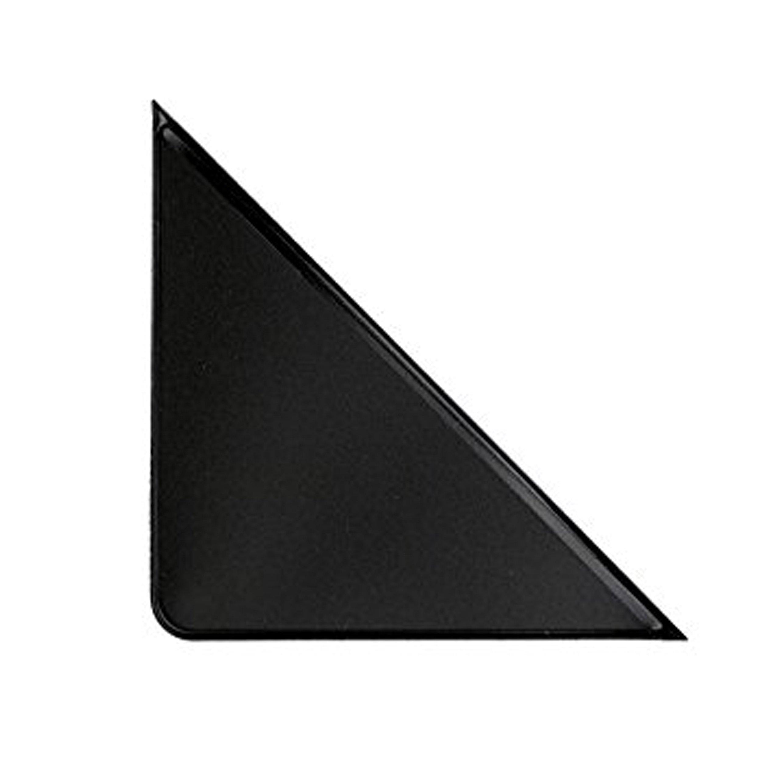 PackZen Durable Black Vinyl Adhesive Calendar Corner Protector - Case of 1600 - Made in the USA