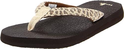 50c150e3f58d Sanuk Women s Yoga Wildlife Flip Flop  Amazon.ca  Shoes   Handbags