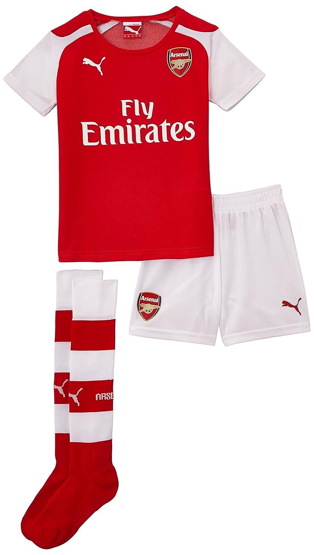 Puma Afc Home Minikit - Camiseta de equipación de fútbol para hombre, color rojo, talla FR : 2/3 ans (Taille Fabricant : 92): Amazon.es: Deportes y aire ...