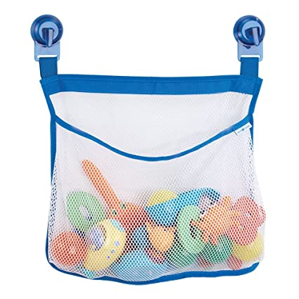 mDesign – Cesta de ducha para juguetes – Sin taladro – Neceser con ventosas  para bañera cd14a72a6ad1