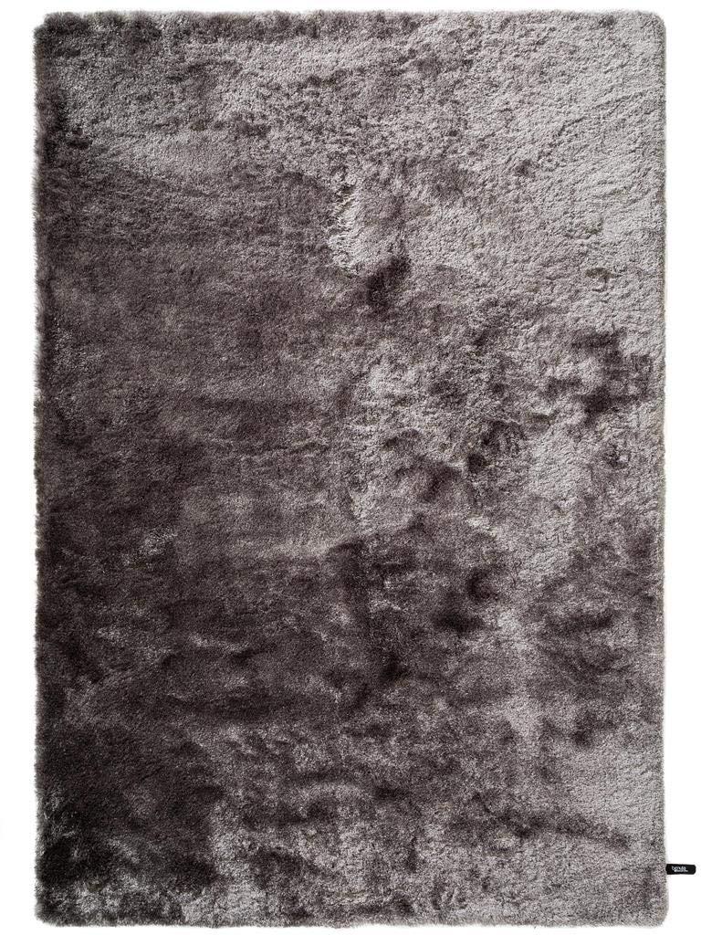 Benuta Shaggy Hochflor Teppich Whisper Grau 80x150 cm   Langflor Teppich für Schlafzimmer und Wohnzimmer