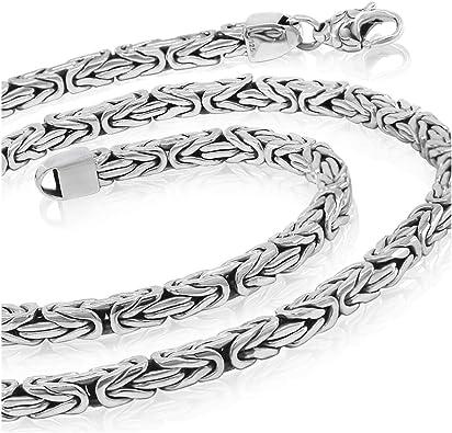 925 Chain woven silver chain Mens jewelry Heavy Woven Sterling Silver Chain Necklace Mens silver chain Silver Chain Necklace Unisex